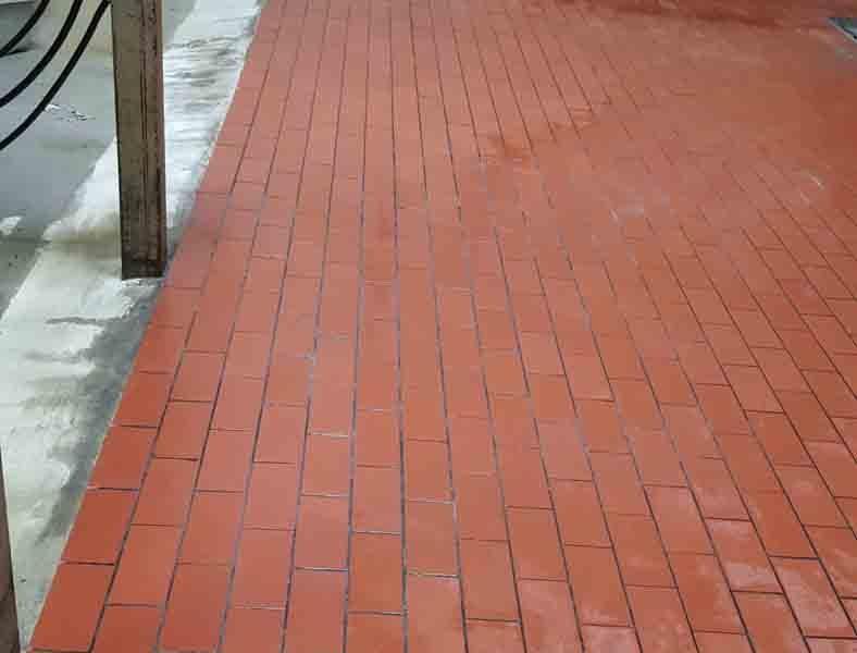 Dairy Brick Flooring