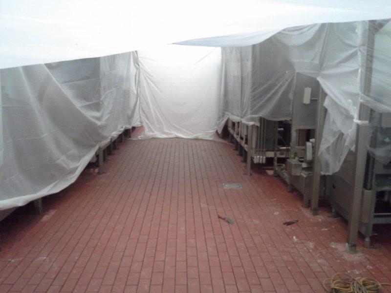 Dairy Brick and Acid Brick Construction