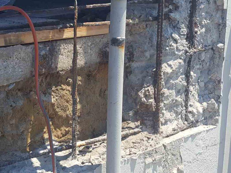 concrete wall repair from saputo
