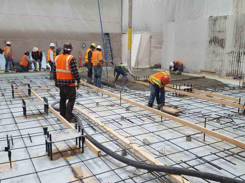 Equipment Pad Santa Ana Construction
