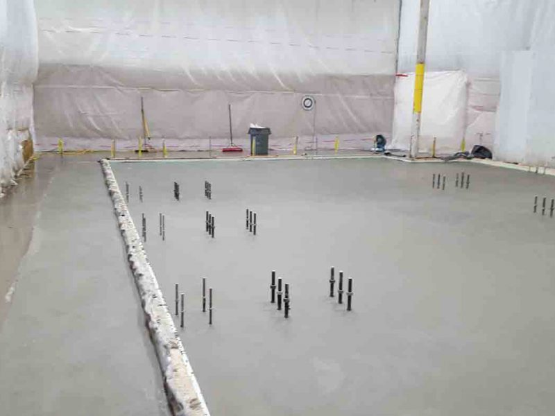Structural Equipment Pad Installation