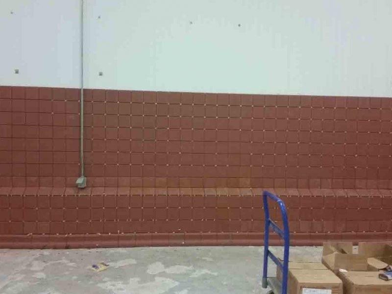 Dairy Brick Wall